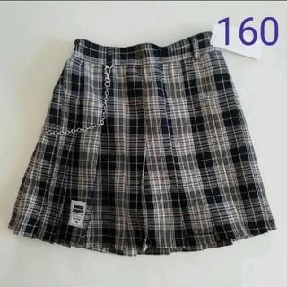 lovetoxic - ラブトキシック 新品 160 チェックプリーツスカート