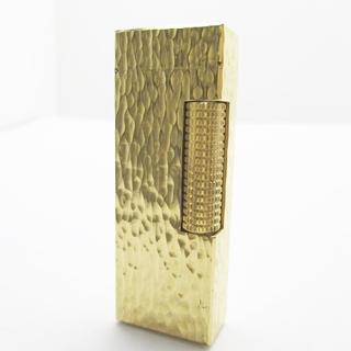 ダンヒル(Dunhill)のダンヒル ライター - ゴールド 金属素材(タバコグッズ)