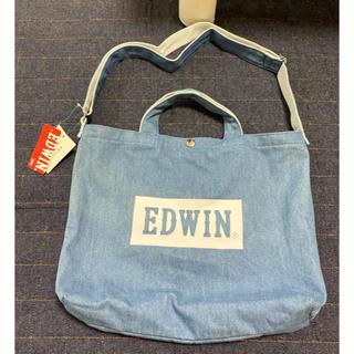 エドウィン(EDWIN)の新品  EDWIN  エドウィン  2wayショルダートートバッグ  デニム(ショルダーバッグ)
