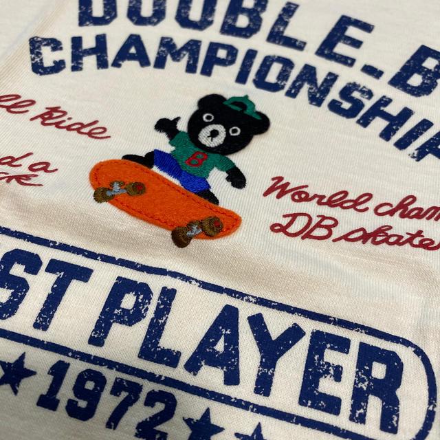 DOUBLE.B(ダブルビー)の新品タグなし ダブルビー  120 キッズ/ベビー/マタニティのキッズ服男の子用(90cm~)(Tシャツ/カットソー)の商品写真