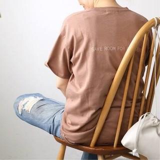 DEUXIEME CLASSE - 新品■CALUX■SAVE ROOM FOR DESSERT Tシャツ■ピンク