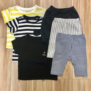 ユニクロ(UNIQLO)のベビー Tシャツ・レギンスセット サイズ80 無印・ユニクロ・H&M(その他)