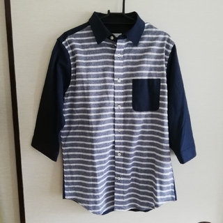 メンズ 八分袖 シャツ