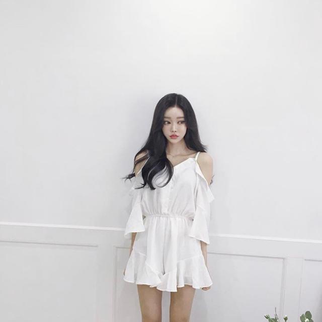 dholic(ディーホリック)の韓国ファッション ジャンプスーツ ワンピース レディースのパンツ(オールインワン)の商品写真