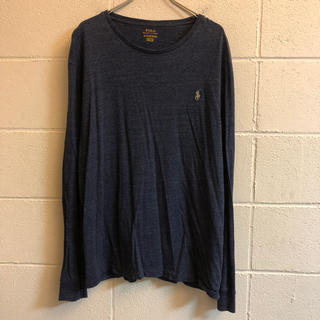 ラルフローレン(Ralph Lauren)のラルフローレン  カットソー ロンT ワンポイント 刺繍(Tシャツ/カットソー(七分/長袖))