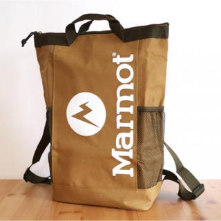 マーモット(MARMOT)のMonoMaxモノマックス 8月号 雑誌付録 マーモット 背負える保冷バッグ(バッグパック/リュック)