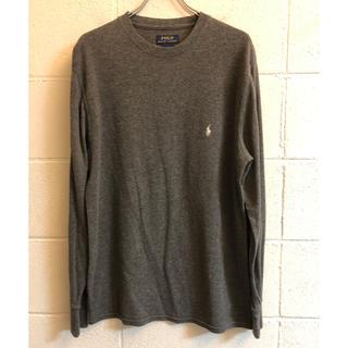 ラルフローレン(Ralph Lauren)のラルフローレン  サーマル カットソー ロンT ワンポイント 刺繍(Tシャツ/カットソー(七分/長袖))