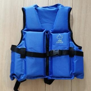 ロゴス(LOGOS)のLOGOS ライフジャケット(青色)(マリン/スイミング)
