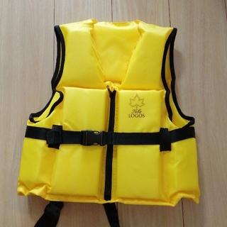ロゴス(LOGOS)のLOGOS ライフジャケット(黄色)(マリン/スイミング)