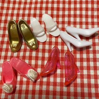 バービー(Barbie)のバービー の靴 5足セット(ぬいぐるみ/人形)