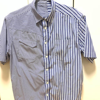 sacai - sacai 半袖シャツ ストライプ