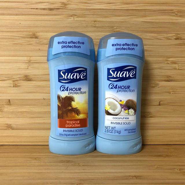 Suave(スアーヴ)の2本セット‼️ スアーブ トロピカルパラダイス ココナッツキス大容量 Suave コスメ/美容のボディケア(制汗/デオドラント剤)の商品写真