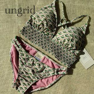 Ungrid - u-174★新品★Ungridアングリッド水着★9Mビキニ