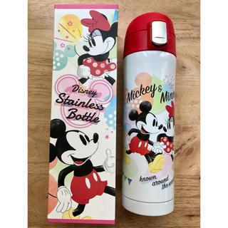 Disney - 水筒 ステンレスボトル ワンプッシュ ミッキー ミニー 真空二重 保温保冷 両用