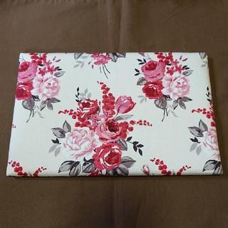 LAURA ASHLEY - ミニアイロン台 赤花柄3 ハンドメイド