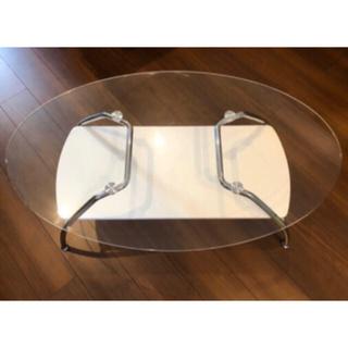 ニトリ(ニトリ)の【再値下!】ニトリ ガラステーブル(ローテーブル)