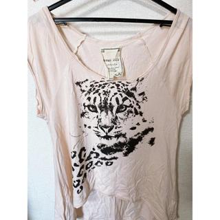 アバンリリー(Avan Lily)のAVAN LILY  ピンクベージュ トップス(Tシャツ(半袖/袖なし))