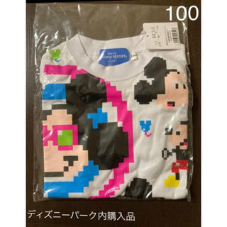 Disney - 【新品】公式 ディズニーリゾート  ミッキー  Tシャツ 100