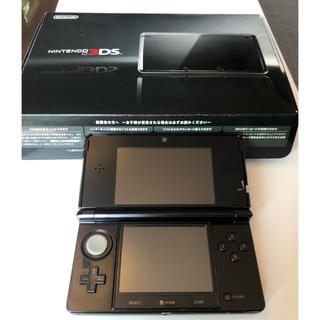 ニンテンドー3DS - 任天堂 3DS コスモブラック