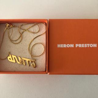 オフホワイト(OFF-WHITE)のheron preston(ネックレス)