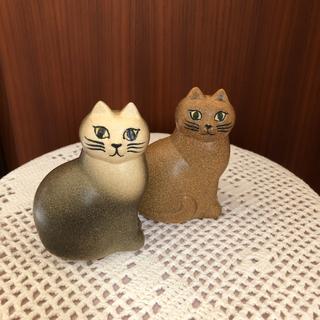 Lisa Larson - リサラーソン 置物 ネコ 北欧暮らしの道具店