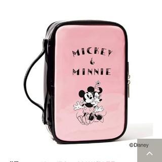 ディズニー(Disney)のスイートsweet付録ミッキーミニーメイクケース(メイクボックス)