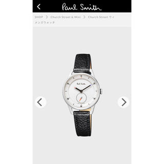 ポールスミス(Paul Smith)のポールスミス Church Street ウィメンズウォッチ ブラック(腕時計)