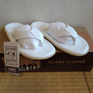 アイランドスリッパ(ISLAND SLIPPER)のISLAND SLIPPER アイランドスリッパ ソフトレザーサンダル(ビーチサンダル)