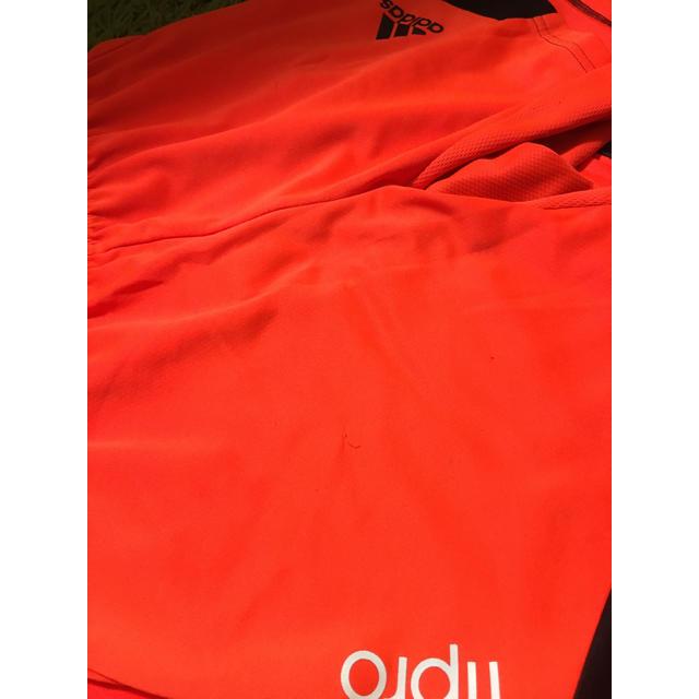 adidas(アディダス)のアディダス Tシャツ&パンツ セット スポーツ/アウトドアのサッカー/フットサル(ウェア)の商品写真