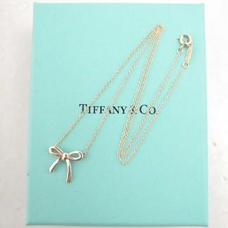 Tiffany & Co. - 早い者勝ち!【クリーニング済】ティファニー ボウリボン ネックレス シルバー