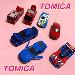 Takara Tomy - TOMICA★7点セット★スパイダーマン★ドナルド★レスキュー車★限定★レア