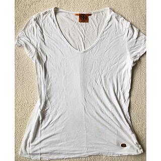 トリーバーチ(Tory Burch)のトリーバーチ Tシャツ ホワイト ロゴあり (Tシャツ(半袖/袖なし))