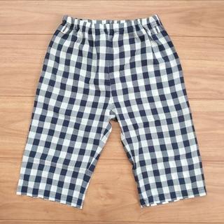 ムジルシリョウヒン(MUJI (無印良品))の無印良品 ベビー キッズ 夏用パジャマ 下 パンツ ボトムス(パジャマ)