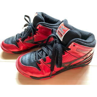 ミズノ(MIZUNO)のミズノ バスケットシューズ ウエーブルーキーBB3 ジュニア(バスケットボール)