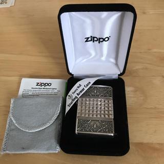 ジッポー(ZIPPO)の新品未使用 アーマーカスタムラインⅥ 深彫り3面加工ZIPPO(タバコグッズ)