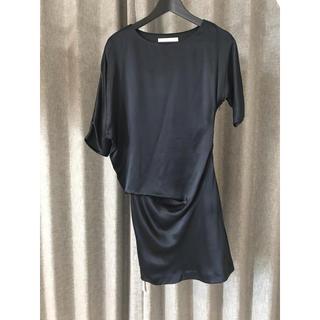 ノーブル(Noble)のNOBLE ブラックドレス(ひざ丈ワンピース)