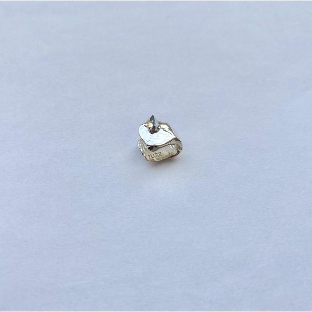 Ron Herman(ロンハーマン)のpluie ear cuff・silver ジェムストーン付き レディースのアクセサリー(イヤーカフ)の商品写真