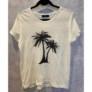 SHIPS - SHIPS リネン Tシャツ
