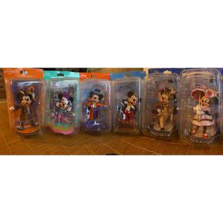 ミッキーマウス(ミッキーマウス)のディズニー ミッキー ミニー フィギュアリン 6体セット(キャラクターグッズ)