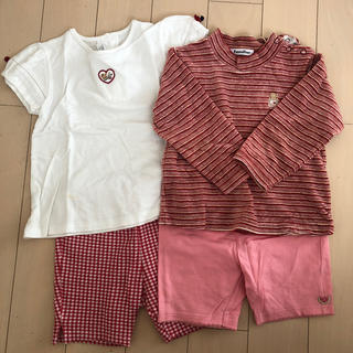 familiar - familiar Tシャツ ロンT パンツ
