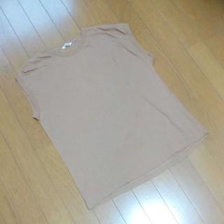 IENA - AURALEE オーラリーのスリーブレスクルーネックTシャツ