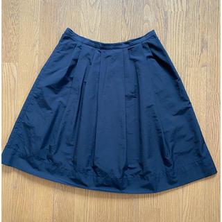 ムジルシリョウヒン(MUJI (無印良品))の無印良品 フレアスカート 黒 美品❗️(ひざ丈スカート)