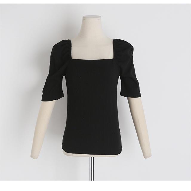 dholic(ディーホリック)のDHOLIC トップス ブラック レディースのトップス(Tシャツ(半袖/袖なし))の商品写真