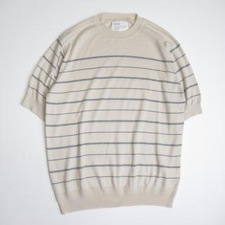 アレッジ(ALLEGE)のALLEGE アレッジ サマーセーター ニットTシャツ 1 日本製(ニット/セーター)