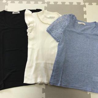 ダズリン(dazzlin)のトップス3点セット(Tシャツ(半袖/袖なし))