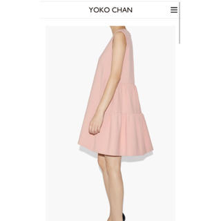 BARNEYS NEW YORK - 美品 YOKO CHAN Back Tiered Dress ワンピース 36