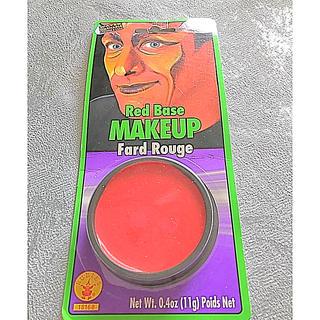 どうらん  赤 フェイスペイント レッド 赤色 どーらん ドウラン ドーラン(小道具)