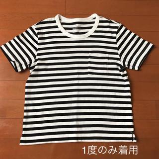 MUJI (無印良品) - 美品 無印良品 ボーダー Tシャツ Sサイズ