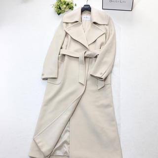 Max Mara - 美品 マックスマーラ MAXMARA カシミヤ 美しい女優襟 ベルト コート