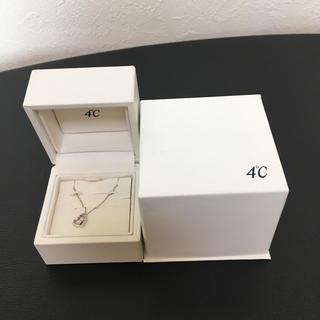 4℃ - 4℃ ヨンドシー  10kネックレス【本体極美品】